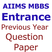 Previous Year AIIMS MBBS Entrance Questions Papers icon
