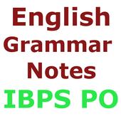 IBPS PO अंग्रेज़ी व्याकरण  Notes icon