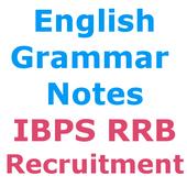 IBPS RRB Recruitment अंग्रेज़ी व्याकरण  Notes icon