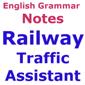 Railway Traffic Assistantअंग्रेज़ी व्याकरण Notes icon