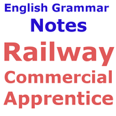 Railway Commercial Apprenticeअंग्रेज़ी व्याकरणNote icon