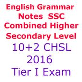 SSC Combined 12th CHSL Tier अंग्रेज़ी व्याकरण Note icon