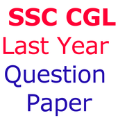 Last  Year SSC CGL Questions Papers icon