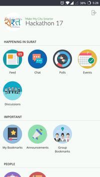 SmartCity Surat Hackathon 17 screenshot 1