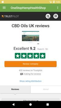 CBD OILS UK - ONE STOP HEMP HEALTH SHOP screenshot 4