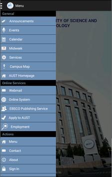 AUST apk screenshot