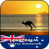 Australia Hotel Booking icon