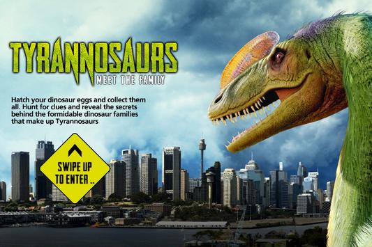Tyrannosaurs poster