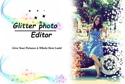 Glitter Photo Editor poster