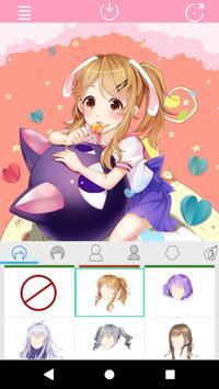 Kawaii Anime Girl Factory poster