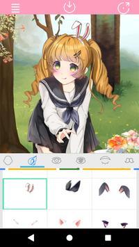 Kawaii Anime Girl Factory screenshot 5