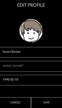 Seven Barber apk screenshot