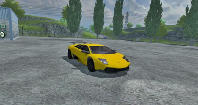 Aventador Car Simulator screenshot 2