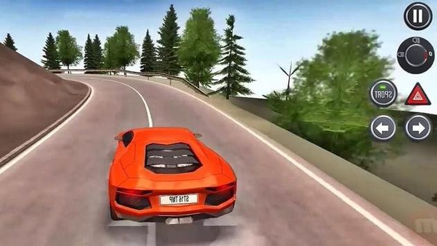Aventador Drive Simulator apk screenshot