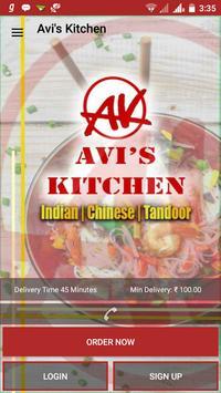 Avi's Kitchen poster
