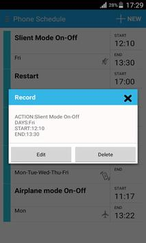 Image result for phone schedule apk