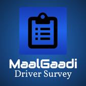 MaalGaadi Driver Survey App icon