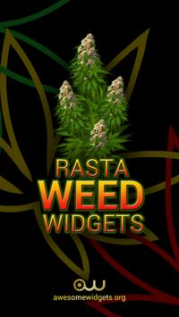 Rasta Weed Widgets HD poster