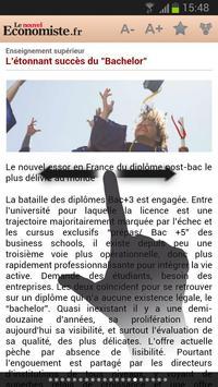 Le nouvel Economiste.fr apk screenshot