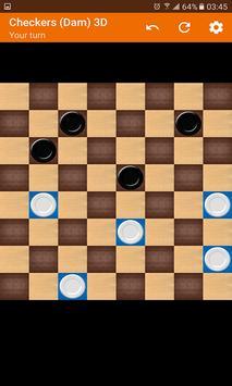 Checkers (Dam) 3D screenshot 6