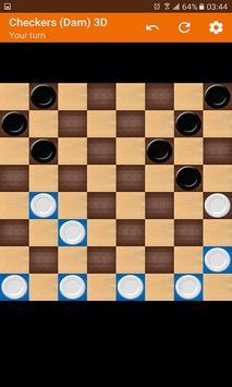 Checkers (Dam) 3D screenshot 9