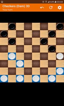 Checkers (Dam) 3D screenshot 1