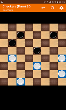 Checkers (Dam) 3D screenshot 2