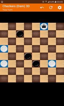 Checkers (Dam) 3D screenshot 3