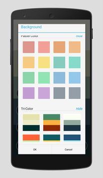 Flat Wallpaper Maker apk screenshot
