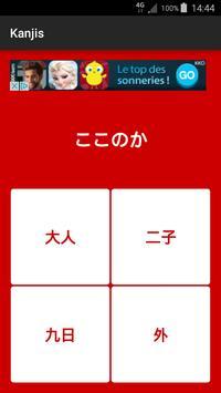 Kanjis apk screenshot