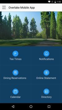 Overlake Golf & Country Club apk screenshot