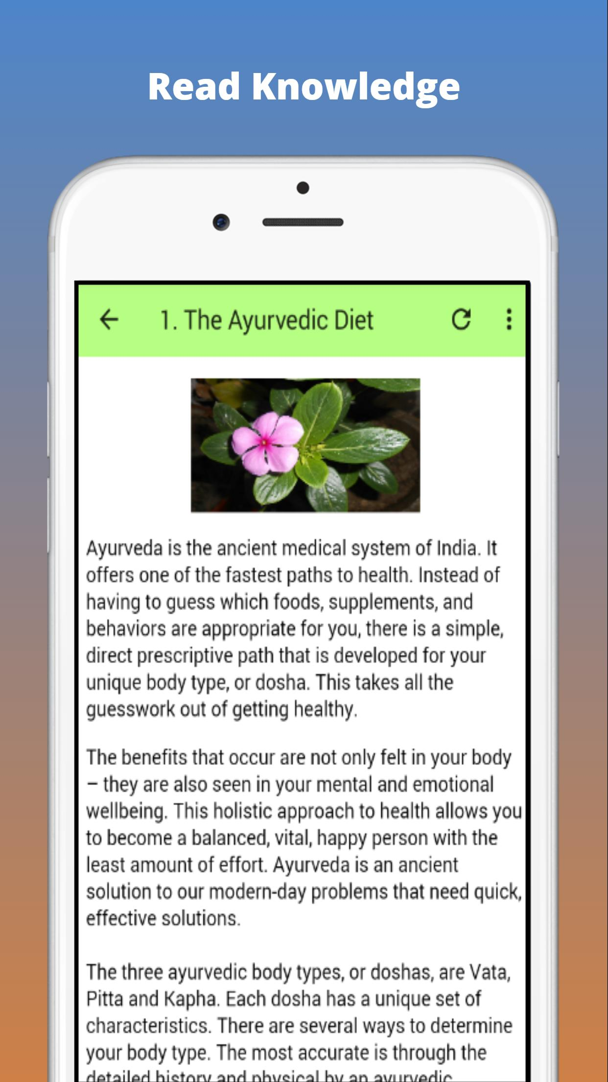 Ayurvedic Diet Plan for Android - APK Download