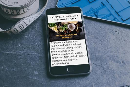 AYURVEDIC MEDICINE - REMEDIES FOR BETTER HEALTH for Android