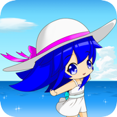 Summer of Girl 【LiveWallpaper】 icon