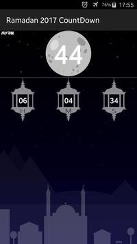 Ramadan 2017 Countdown screenshot 4