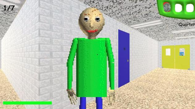 Baldi's Basics in Education and Learning скриншот 1