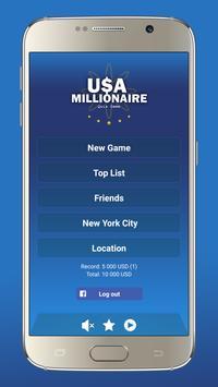 US Millionaire poster
