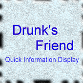 Drunk's Friend Quick Display icon