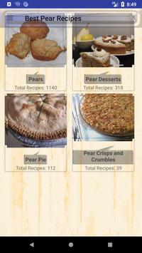 1600 Best Pear Recipes poster