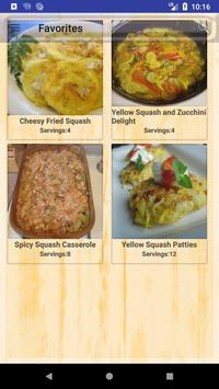 Best Squash Recipes apk screenshot