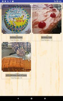 Birthday Party Recipes screenshot 8
