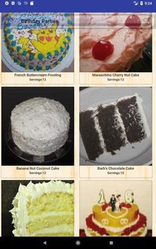 Birthday Party Recipes screenshot 9