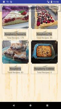 Delicious Raspberry Recipes poster