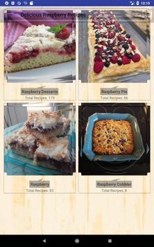 Delicious Raspberry Recipes screenshot 14