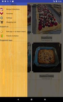 Delicious Raspberry Recipes screenshot 12