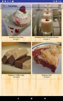Delicious Raspberry Recipes screenshot 20