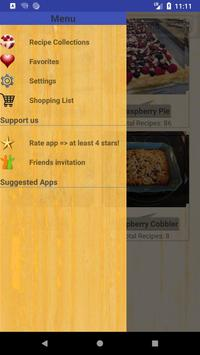 Delicious Raspberry Recipes screenshot 5