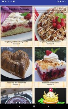Delicious Raspberry Recipes screenshot 8