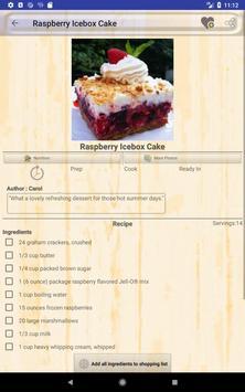 Delicious Raspberry Recipes screenshot 9