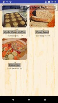 Easy and Simple Wheat Recipes poster